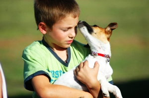 Positive interaction between children and all animals promotes compassion, respect, and a sense of well-being.