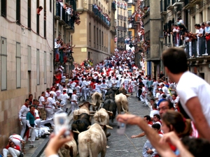 Virginia, Georgia, and Texas are supporting an event this year called Running with the Bulls, which is meant to mimic the running of the bulls in Pamplona, Spain.