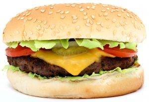 How much will eating this hamburger really cost you?