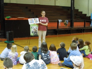 Humane educators are trained in public speaking.